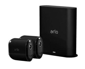 ARLO PRO3 WIRE-FREE 2 CAM KIT BLK