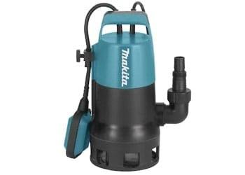 Makita PF0410 dränkbar smutsvattenpump med säkerhetsplugg